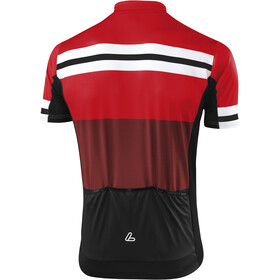 Löffler Giro Bike Trikot Ful-Zip Herren rot